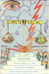 Portada original del libro El Cristo Social del VM Samael Aun Weor