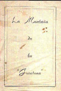 Portada original del libro la montaña de la Juratena del VM Samael Aun Weor