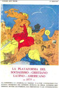 Portada Original del libro de la Gnosis Plataforma del Socialismo Cristiano Latino Americano del VM Samael Aun Weor