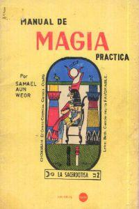 Portada original del libro Manual de Magia Practica del VM Samael Aun Weor